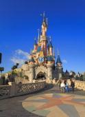 Sleeping Beauty Castle at Disneyland Resort Paris during 15th Anniversary