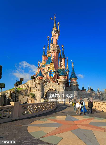 Sleeping Beauty Castle at Disneyland Resort Paris during 15th Anniversary