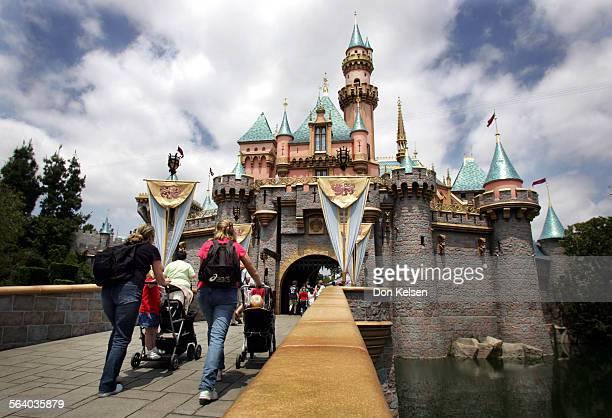 Sleeping Beauty's castle Disneyland Monday May 2 2005 On MAY 5 as Disneyland kicks–off it's 50th anniversary 'Happiest Homecoming on Earth'...
