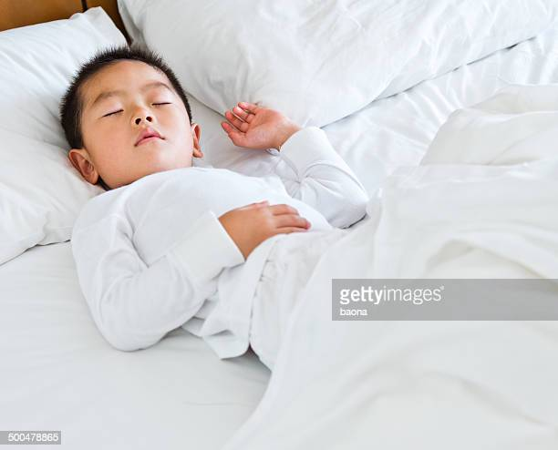 Schlafen Jungen