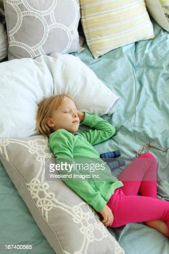 Dormire/a figlio/a : Foto stock