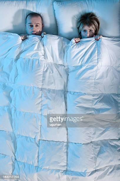 Schlafen Paar