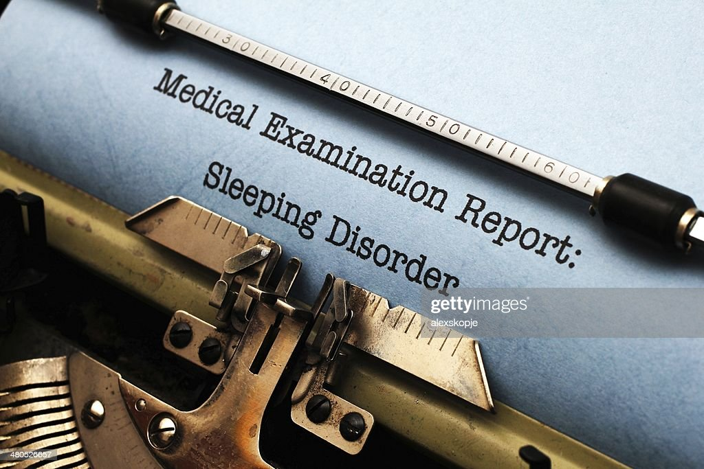 Sleeping disorder : Bildbanksbilder