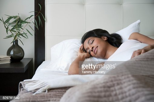 Sleeping woman : Stock-Foto