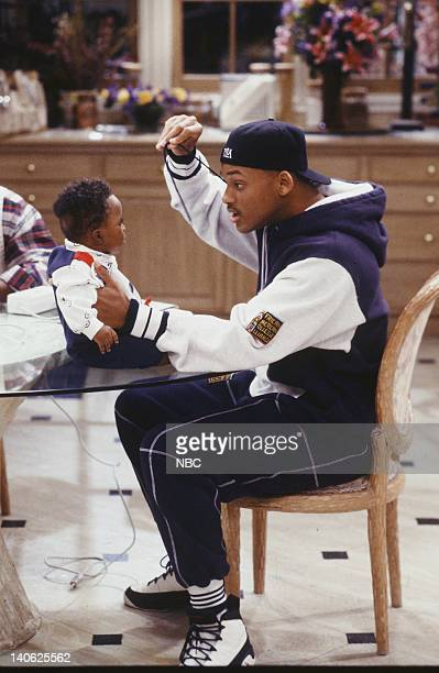 AIR THE 'Sleepless in BelAir' Episode 14 Pictured Ross Bagley as Nicky Banks Will Smith as William 'Will' Smith Photo by Paul Drinkwater/NBCU Photo...