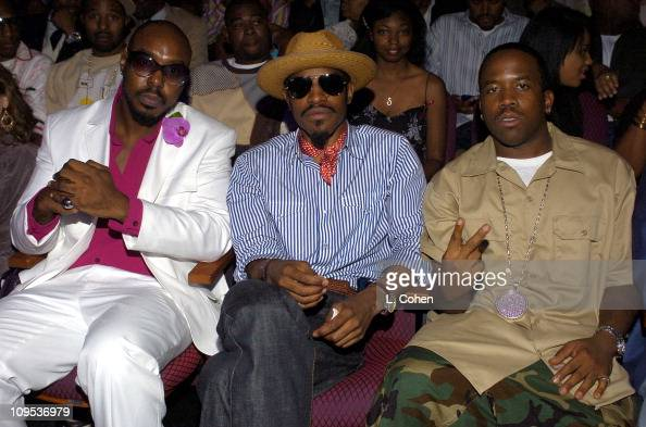 Sleepy Brown Andre 3000 of Outkast and Big Boi of Outkast