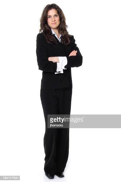 Lässig Geschäftsfrau