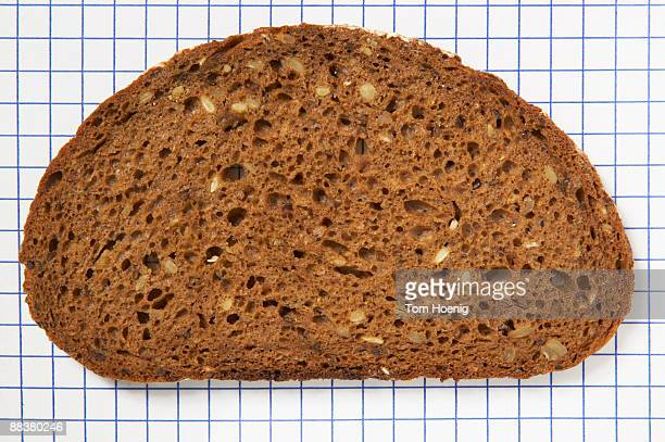 Slice of bread, close-up