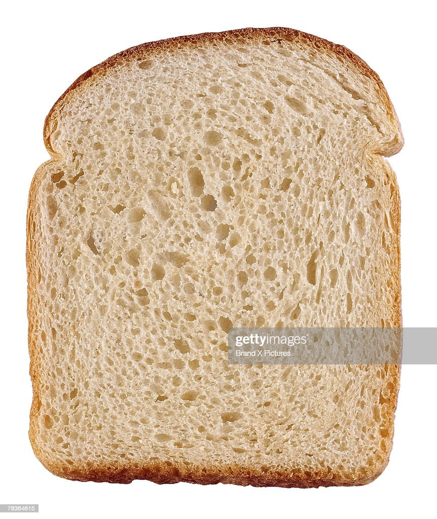 Slice of bread : Stock Photo