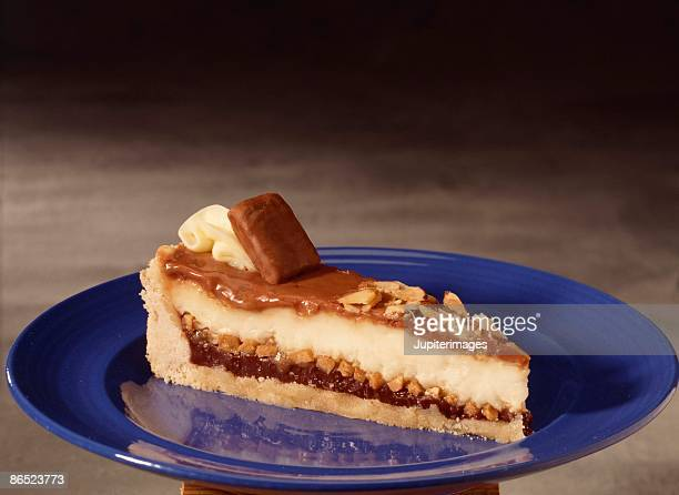 Slice of butterscotch pie