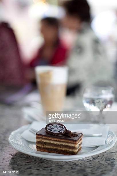 Slice of Cake, Gerbeaud cafe, Budapest, Hungary
