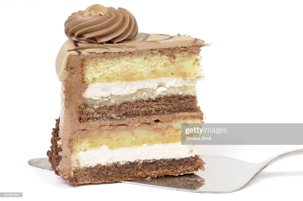 Slice of cake : Stock Photo