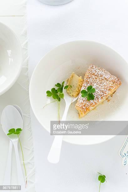 Slice of Gateau Basque