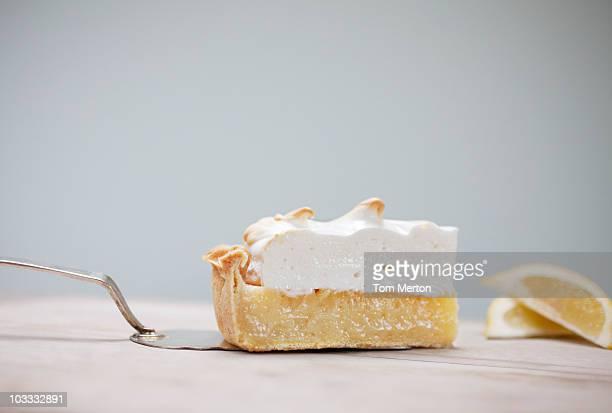 Fetta di Torta di meringa e limone