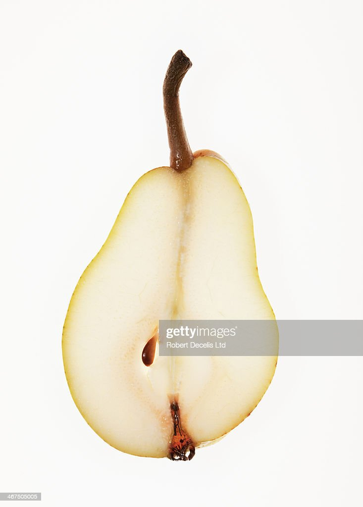 Slice of pear