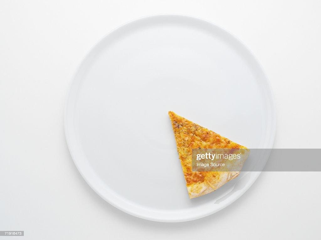 Slice of pizza : Stock Photo