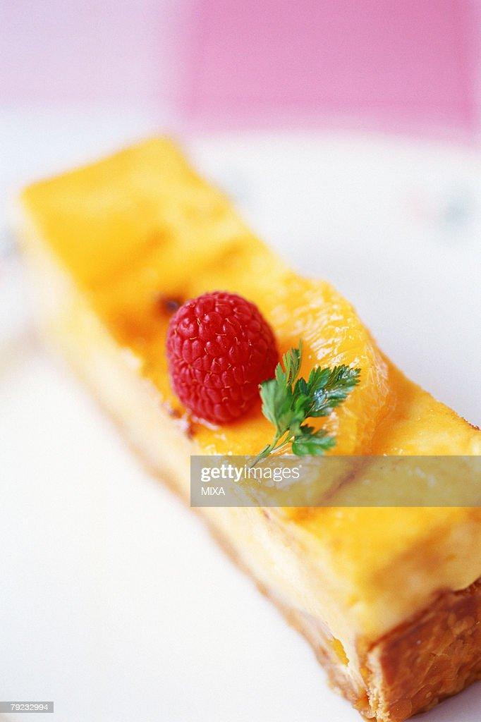 A slice of pumpkin pie : Stock Photo