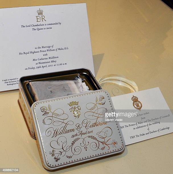 A slice of royal wedding cake from the marriage of Prince William and Kate Middleton to be auctioned by Julien's Auctions of Beverly Hills December...
