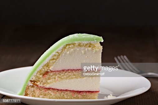 Slice Of Swedish Princess Cake