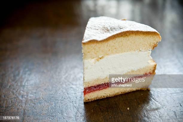 slice of victoria sponge