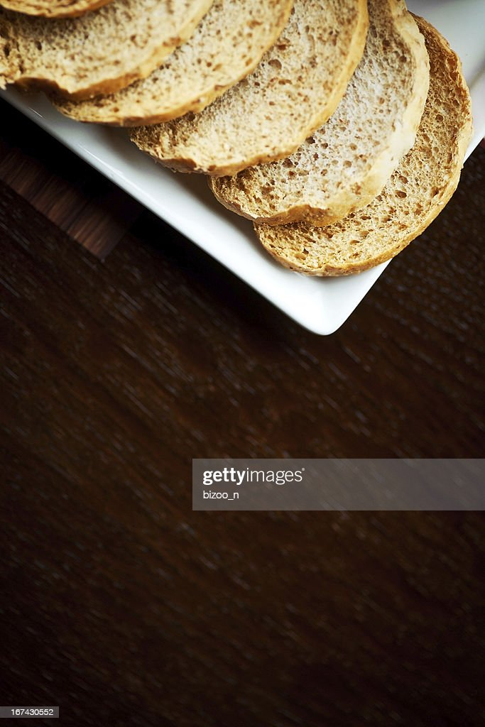 Sliced bread : Stock Photo