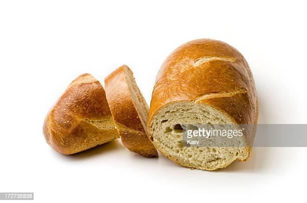 Tranches de pain français