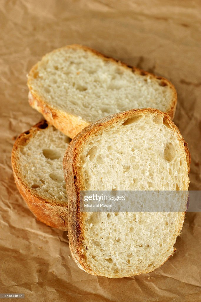 Sliced French bread : Stock Photo