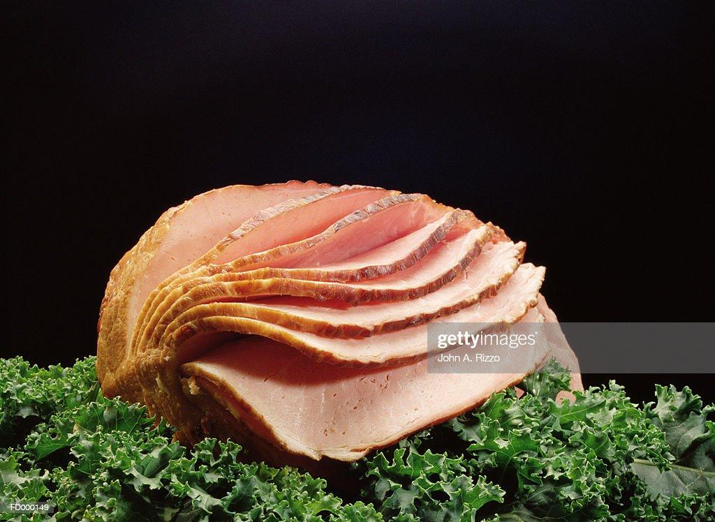 Sliced Ham : Stock Photo