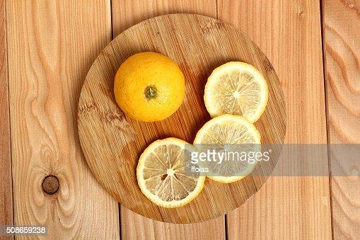 Sliced lemon : Stock Photo