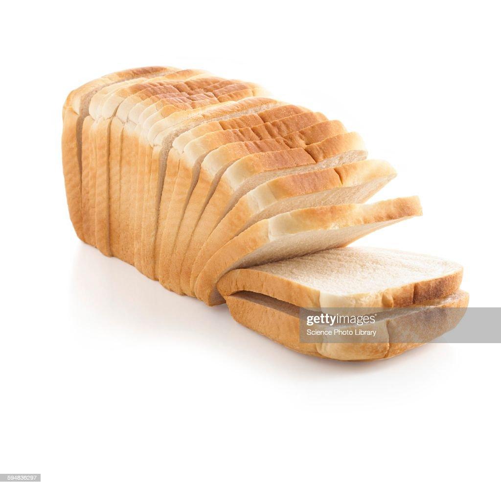 Sliced loaf : Stock Photo