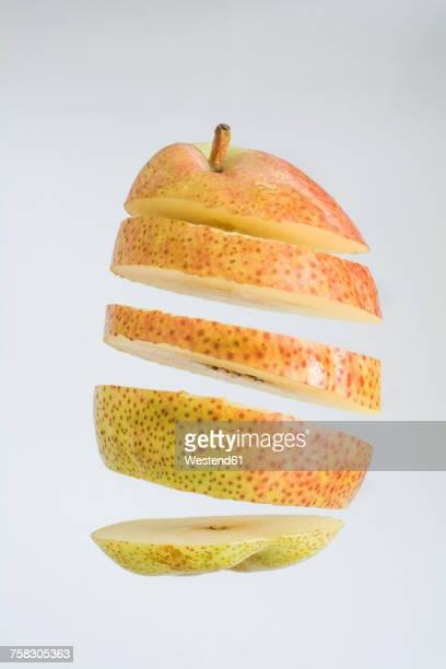 Sliced pear