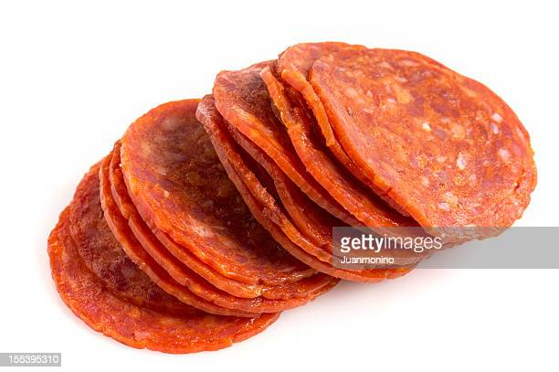 Sliced pepperoni