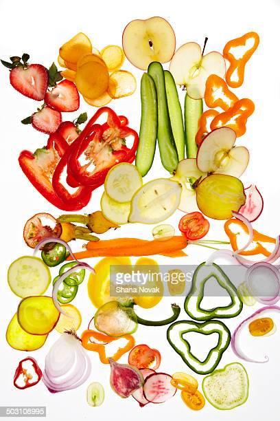 Sliced Produce