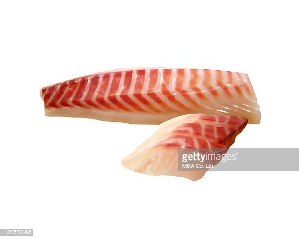 Sliced sea bream