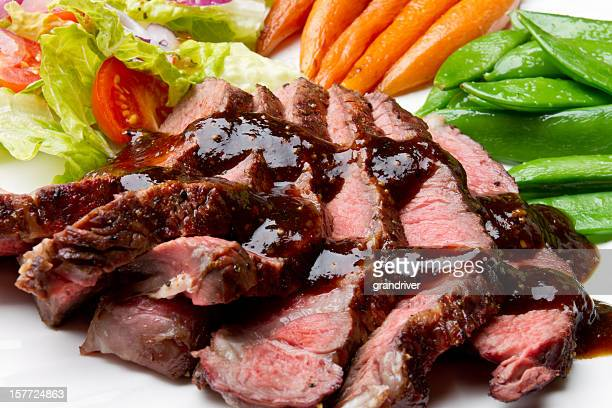Sliced Sirloin Beef Steak