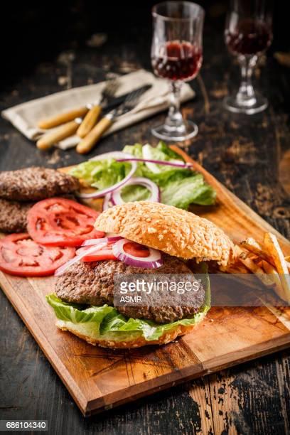 Sliced steak Ribeye