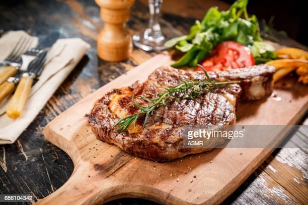 Tranches de bifteck faux-filet