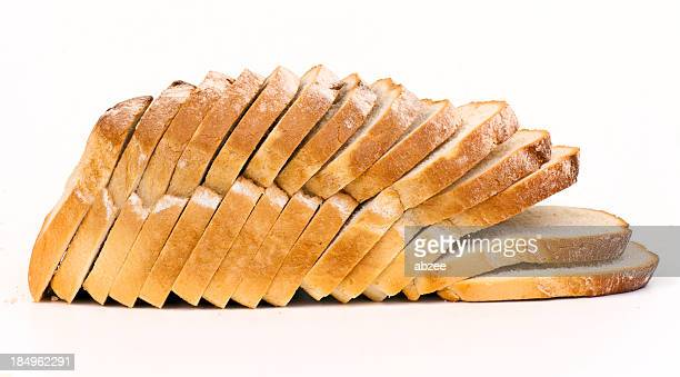 Tranches de pain blanc