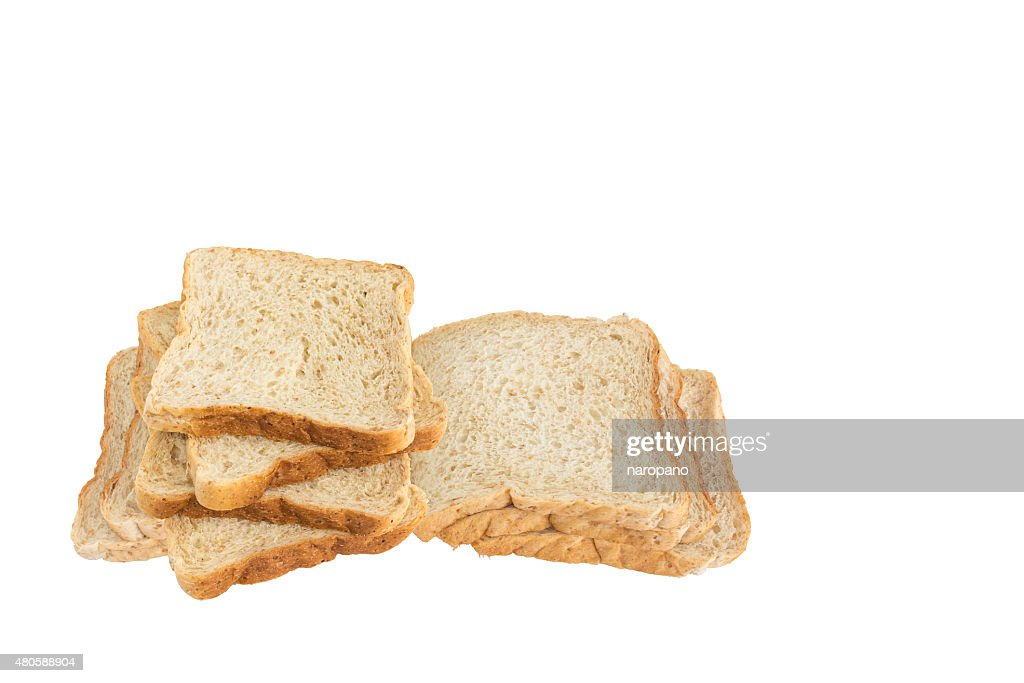 sliced wholewheat bread : Stock Photo