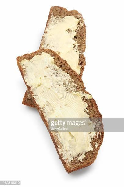 Zwei Scheiben Brot