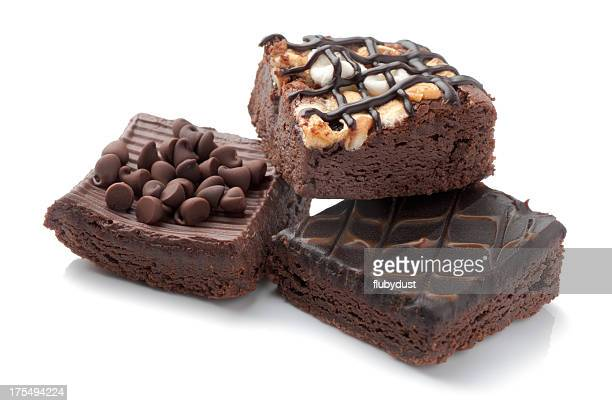 slices of brownies