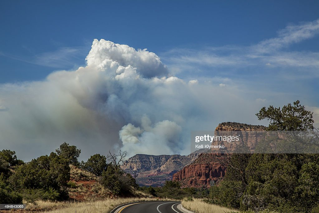 Slide Fire in Sedona, Arizona — 7500 acres burning as of 3:30 p.m. May 23, 2014