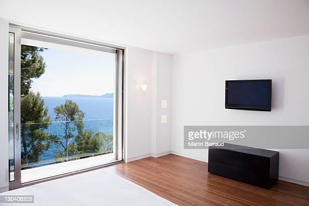 Schiebetüren in modernen Schlafzimmer