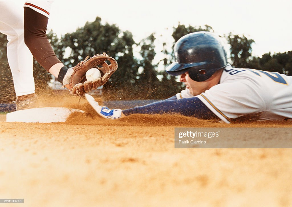 Sliding Runner Being Tagged