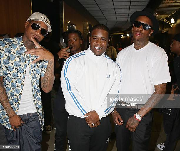 Slim 400 Mighty Baller ASAP Ferg and YG attend the 2016 BET Experience Staples Center Concert Presented by Sprite Performances by LIL WAYNE 2 CHAINZ...