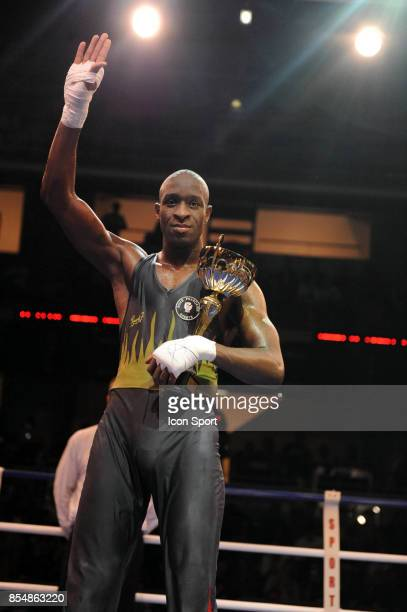 Slimane SISSOKO Championnat de France Elite Savate Boxe Francaise 2009 Stade Coubertin Paris