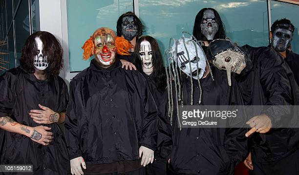 Slipknot during Los Angeles Premiere for 'Freddy Vs Jason' Arrivals at Arclight Theatre in Hollywood California United States