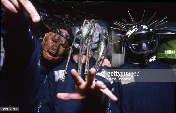 Slipknot portrait United Kingdom 2000