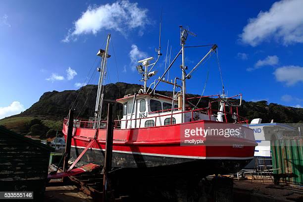 Slipway Stanley Tasmania Australia Trawler Fishing Boat
