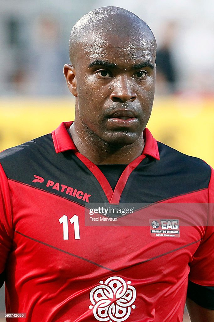 Sloan Privat of Guingamp during the French Ligue 1 between Nancy and Guingamp at Stade Marcel Picot on August 27 2016 in Nancy France